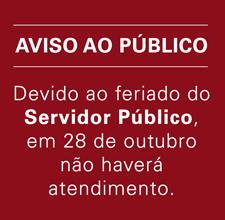 Feriado - Servidor público